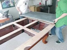 Billiard table moves in Pittsburgh Pennsylvania