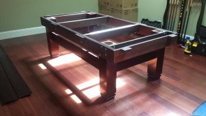 Correctly performing Billiard table installations, Pittsburgh Pennsylvania